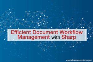 Efficient Document Workflow Management with Sharp